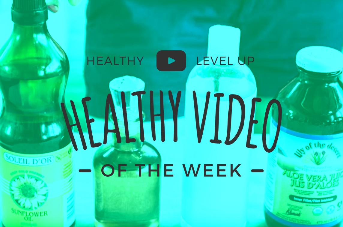 DIY Facial Cleanser – Health Video Pick of the Week